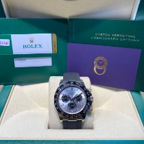 Rolex Daytona White gold 40mm No numerals