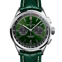 Breitling for Bentley Acél 42mm Zöld
