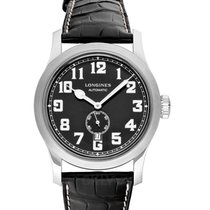 Longines Heritage L28114530 New Steel 44mm Automatic
