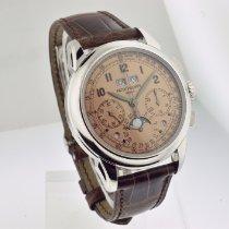 Patek Philippe Platinum Manual winding pre-owned Perpetual Calendar Chronograph