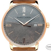 Maurice Lacroix Eliros Rose gold 40mm Grey Roman numerals