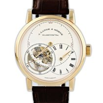 A. Lange & Söhne Rose gold Manual winding Silver 42mm pre-owned Richard Lange