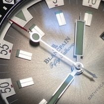 Blancpain Fifty Fathoms Bathyscaphe neu 2019 Automatik Uhr mit Original-Box und Original-Papieren 5052-1110-63A