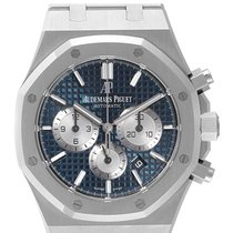 Audemars Piguet Royal Oak Chronograph Steel 41mm Blue No numerals United Kingdom, London