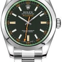 Rolex Milgauss Steel 40mm Black No numerals United States of America, New York, NEW YORK