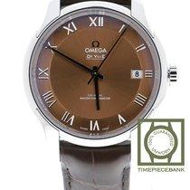 Omega De Ville Hour Vision Acier 41mm Brun
