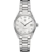 TAG Heuer Carrera Lady nuevo Cuarzo Reloj con estuche y documentos originales WAR1314.BA0778
