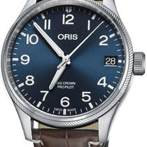 Oris Big Crown ProPilot Date Acier 41mm Bleu Arabes