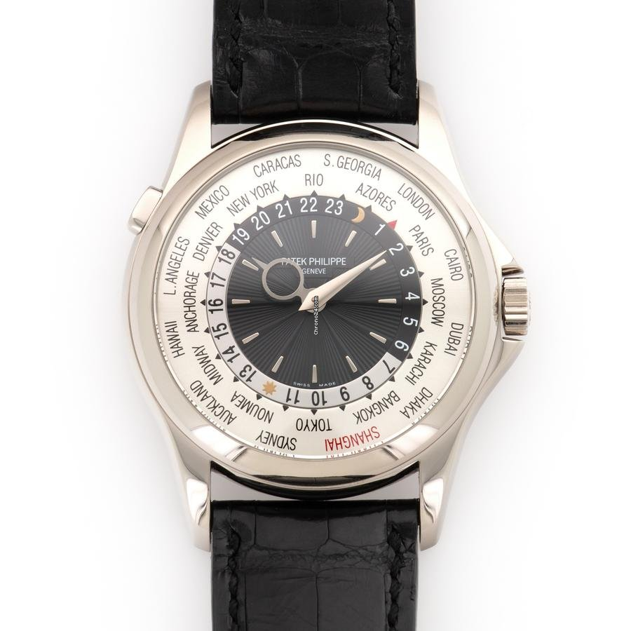 Patek Philippe World Time 5130G-018 2013 pre-owned