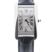 Cartier Tank Américaine nieuw 2021 Automatisch Horloge met originele doos en originele papieren WSTA0018