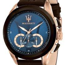 Maserati Gold/Steel 45mm Quartz R8871612024 new