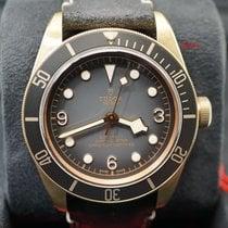 Tudor Black Bay Bronze neu 2020 Automatik Uhr mit Original-Box und Original-Papieren 79250BA-0001 TUDOR BRONZO nero con pelle Black Bay 43mm