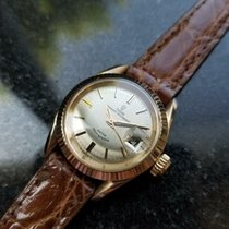 Tudor Yellow gold Automatic Gold 25mm pre-owned Prince Oysterdate