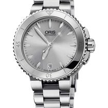 Oris Steel Automatic Silver 36mm new Aquis Date