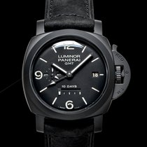 Panerai Luminor 1950 10 Days GMT new Automatic Watch with original box and original papers PAM00335