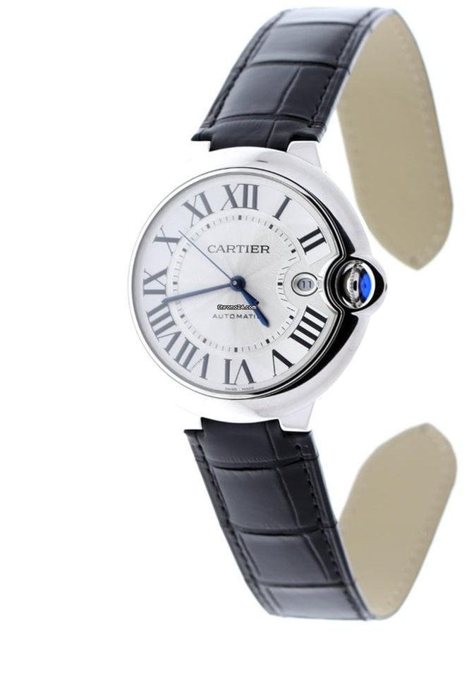 Cartier Ballon Bleu 42mm W69016Z4 2021 новые