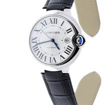 Cartier Ballon Bleu 42mm Сталь 42.1mm Cеребро Римские