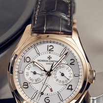 Vacheron Constantin Fiftysix Rose gold 40mm Silver Arabic numerals