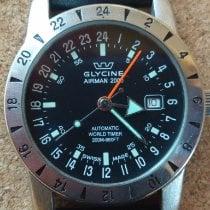 Glycine usados Automático 42mm Negro Cristal de zafiro 20 ATM