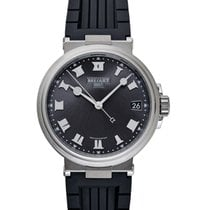 Breguet (ブレゲ) マリーン 新品 自動巻き 正規のボックスと正規の書類付属の時計 5517TI/G2/5ZU