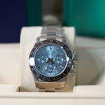 Rolex Daytona Platine 40mm Bleu Sans chiffres