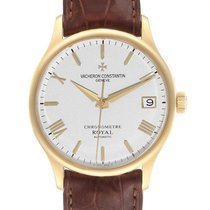 Vacheron Constantin Yellow gold Automatic Silver Roman numerals 33mm pre-owned Patrimony