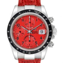 Tudor Tiger Prince Date Steel 40mm Red Arabic numerals United States of America, Georgia, Atlanta