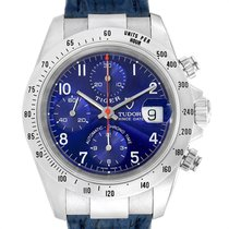 Tudor Tiger Prince Date Steel 40mm Blue Arabic numerals United States of America, Georgia, Atlanta