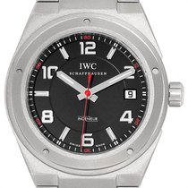 IWC Ingenieur AMG pre-owned 42.5mm Black Date Titanium