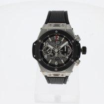 Hublot Big Bang Unico neu 2021 Automatik Chronograph Uhr mit Original-Box und Original-Papieren 441.NM.1170.RX
