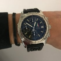 Breitling Chronomat Acero 39mm Negro Sin cifras