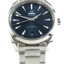 Omega new Automatic Display back Central seconds Chronometer Screw-Down Crown Quick Set Only Original Parts Master Chronometer 41mm Steel Sapphire crystal
