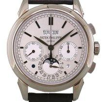 Patek Philippe Perpetual Calendar Chronograph 5270G Muy bueno Oro blanco 41mm Automático