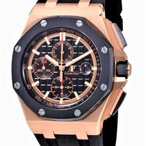 Audemars Piguet Royal Oak Offshore Chronograph Oro rosa 44mm Nero Senza numeri