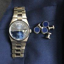 Rolex Oro blanco Cuarzo Azul 36mm usados Day-Date Oysterquartz