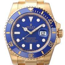 Rolex Submariner Date 116618LB Nu a fost purtat Aur galben 40mm Atomat