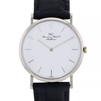 IWC Portofino (submodel) Or blanc 32mm Blanc Sans chiffres France, Paris