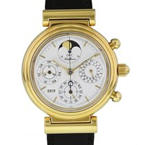 IWC Da Vinci Perpetual Calendar Yellow gold 38mm White United States of America, New York, New York