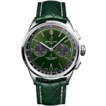 Breitling for Bentley Stål 42mm Grøn Ingen tal