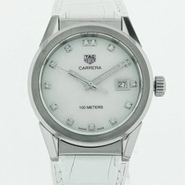 TAG Heuer Carrera Lady Steel 36mm White