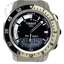 Tissot Sea-Touch Acero 42mm Negro Sin cifras