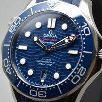 Omega Seamaster Diver 300 M 210.32.42.20.03.001 Omega Seamaster Diver 300 Ceramica Blu 2020 new