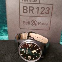 Bell & Ross folosit Atomat 41mm Negru Sticlă de safir 10 ATM