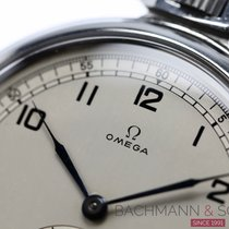 Omega Watch pre-owned 1946 Steel 50.5mm Arabic numerals Manual winding Watch only