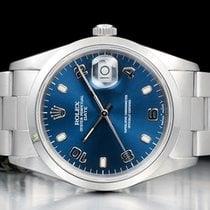 Rolex Oyster Perpetual Date usados 34mm Azul Fecha Cierre desplegable