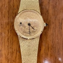 Universal Genève new Manual winding Yellow gold Mineral Glass