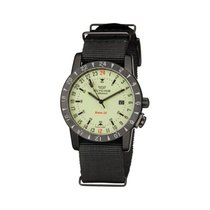 Glycine Airman Base 22 Steel 42mm Black