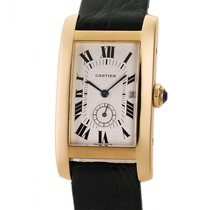 Cartier Tank Américaine Yellow gold 23mm White Roman numerals United States of America, New York, New York
