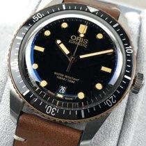 Oris 01 733 7707 4354-07 5 20 55 Steel Divers Sixty Five 40mm new