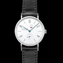 NOMOS Tangente Gangreserve Steel 35mm Silver United States of America, California, San Mateo